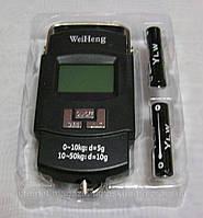 Весы электронные(безмен кантер)до 50кг(5г) с батарейками в комплекте-TDN