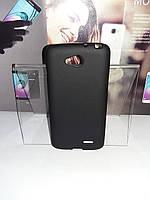 Чехол силиконовый накладка для LG L90/D405