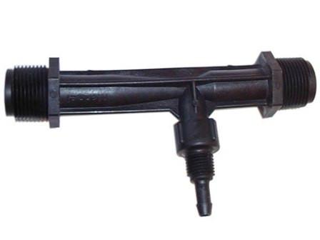 """Инжектор Вентури 1""""  Всасывающая способность 34-279 л/ч , капельное орошение"""