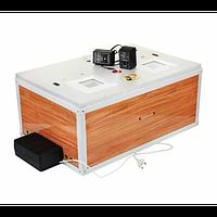Инкубатор Курочка Ряба 60 на яиц, Авто+ Цифр,обшит пластиком,таймер,привод
