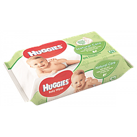 Влажные салфетки для детей Huggies Natural Care Aloe Vera 56 шт.