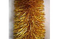 Новогодний дождик золото 150 мм Польша