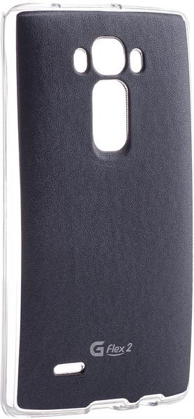 Чехол VOIA LG Optimus G Flex 2 (черн.) + защитная пленка