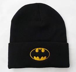 Шапка вязаная Бетмен