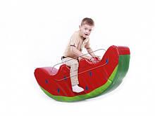 Детская качалка мягкий модуль KIDIGO Арбузик