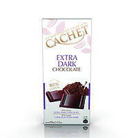 Шоколад Cachet (Кашет) экстра черный 85% какао Бельгия 100г
