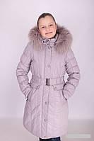 Пальто зимнее для девочки Donilo,на холлофайбере,134,140,146,152,158,160