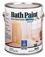 Краска Sherwin williams bath paint(бас Пэйнт)- 3,66л, для ванной, кухни, влажных помещений
