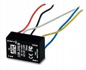 Блок питания повышающий DC/DC преобразователь LDB-500LW драйвер 500мА MEAN WELL 8439