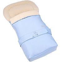 Спальный мешок, конверт трансформер на овчине  № 20 Womar™   светло-голубой