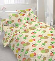 Комплект постельного белья TM Nostra Бязь Люкс 30-0216 Light yellow Полуторный комплект