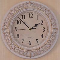 Настенные часы с патиной (26х26х5 см.)