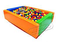 Сухой бассейн KIDIGO Прямоугольник 1,5 х 1,2 м