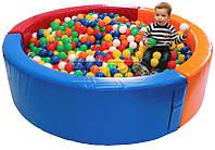Сухой бассейн KIDIGO Круг 1,5 м, фото 1