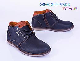 Мужские зимние ботинки на молниях
