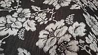 Браслон цветы светлые, обивочная ткань для мебели, Турция (вит)