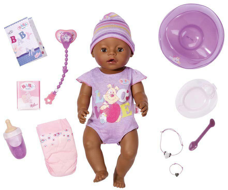 Кукла Baby Born Zapf Creation Очаровательная Мулатка 822029