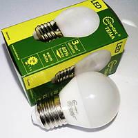 Светодиодная лампа Е27 Bioledex TEMA 5Вт с теплым светом AC/DC
