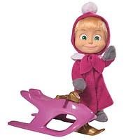 Кукла Маша с санками SIMBA 9301681
