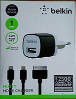 Сзу Belkin + Usb Кабель (Iphone 5/6)