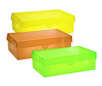 Набор цветных коробов BOX-01 для хранения (3 шт.)