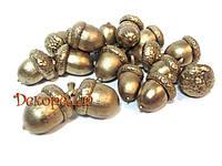 Жолудь  (натуральный) золото