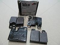 Колодки тормозной дисковый тормоз (комплект) (Производство ABS) 36134