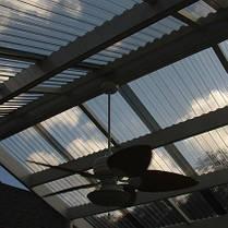 Профилированный поликарбонат 1,05*2,3,4,6м бронзовый, фото 3