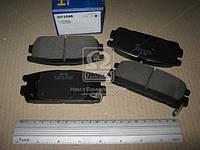 Колодка тормозной HYUNDAI TERRACAN 2.5, 2.9, 3.5 01- задней (Производство SANGSIN) SP1098