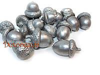 Жолудь  (натуральный) серебро