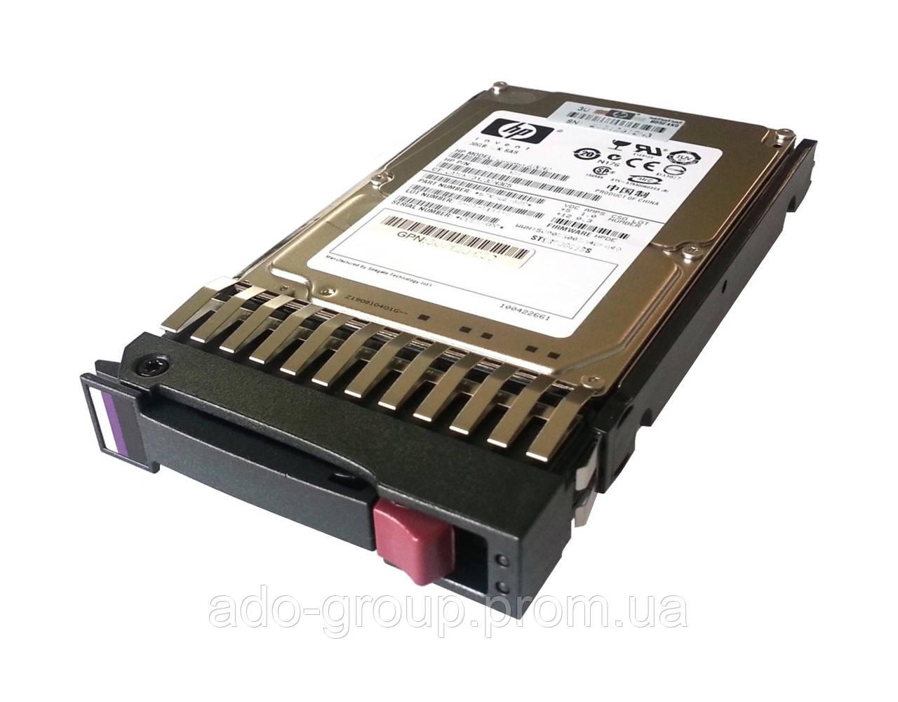 """507121-001 Жесткий диск HP 300GB SAS 10K 6G DP 2.5"""""""
