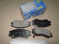 Колодка тормозная MITSUBISHI PAJERO 87-,DELICA 80-,L300 P02V FRONT (производство MK Kashiyama) (арт. D6018M), ADHZX