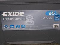 Аккумулятор 65Ah-12v Exide PREMIUM(230х173х222),R,EN580,Корея EA654