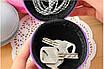Жесткий защитный чехол для наушников и прочих аксессуаров (черный), фото 3