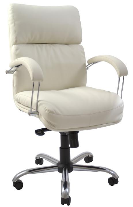 Крісло Дакота Хром механізм Tilt підлокітники Пластина, шкірозамінник Флай-2200 (Richman ТМ)