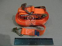 Стяжка груза, 1t. 25mm.x8m.(0.5+7.5) метал. ручка  DK-3940