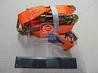 Стяжка груза, 1.5t. 27mm.x5m.(0.5+4.5) метал. ручка  DK-3941