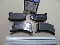 Колодки тормозные диск. Таврия ЗАЗ 1102 (Производство Dafmi) D110SM
