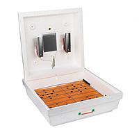 Инкубатор Рябушка-2 ИБМ-70 на 70 яиц с Механическим переворотом,терморег-р Цифровой(Литой корпус пенопласта)
