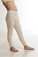 Термобелье детское шерстяное (штаны) телесного цвета