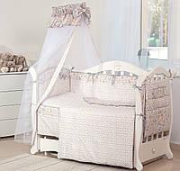 Постельный набор в детскую кроватку Twins Premium Зоо