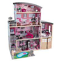 Кукольный домик Сияние Sparkle Mansion KidKraft 65826