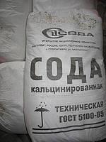 Сода кальцинированная в мешках 25 кг