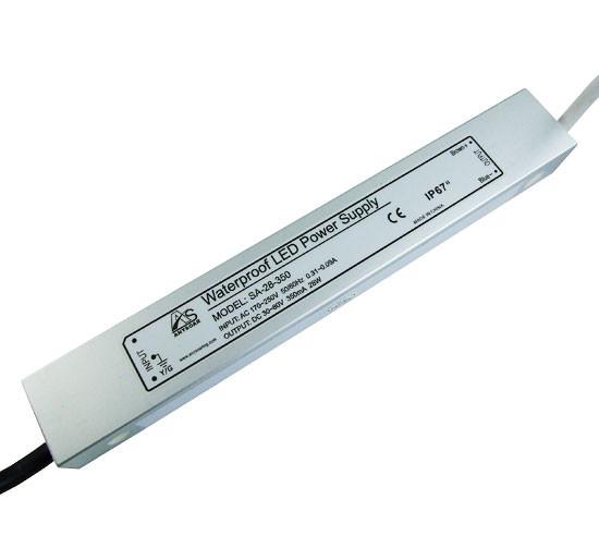 Блок питания 350мА 28Вт 30-80вольт драйвер светодиода SA-28-350 IP67 SOARING 7146