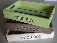 Ящик деревянный для интерьера