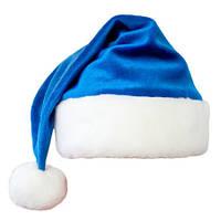 Новогодняя шапка Синяя, красная