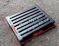 Колосник чугунное литье (220х300 мм) 9,5 кг.