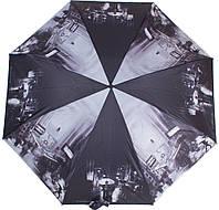 Стильный женский зонтик автомат ZEST (ЗЕСТ) Z24985-2254 Серый