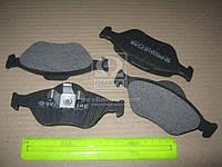 Колодка тормозной FORD FIESTA передний (Производство Intelli) D714E