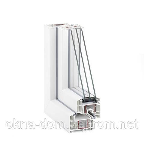 Металлопластиковые окна Rehau Euro-Design 86 plus